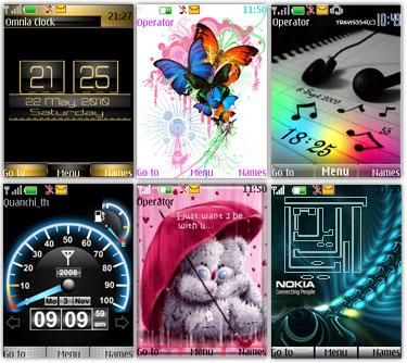 دانلود تم های جدید گوشی نوکیا سری ۴۰-s40v3 – 5310, 5610, 6300