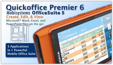 entry ساخت ،مشاهده و ویرایش فایل های آفیس در موبایل با نرم افزار QuickOffice 7.00 - گروه توسعه - مهندس خسرو یعقوبی