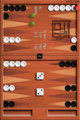 http://www.android100.ir دانلود Backgammon - بازی موبایل تخته نرد برای اندروید