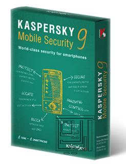 آنتی ویروس قدرتمند kaspersky mobile security 9.5 – سیمبین^۳