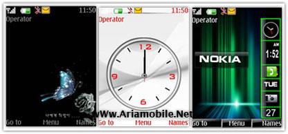 دانلود تم جديد نوکيا سري 40 ورژن 3 و 5 – download theme nokia s40