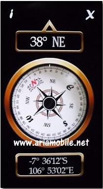 نرم افزار Digital Compass v4.00 – قطب نمای دیجیتالی