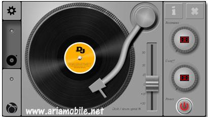 نرم افزار DJ Turntable – سیمبین^۳