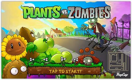 بازی محبوب زامبی ها درمقابل گیاهان Plants vs Zombies-آندرويد