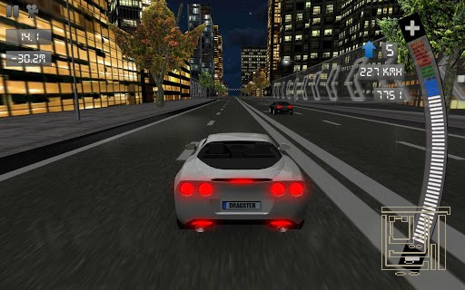 Drag Racing 3D for Android.