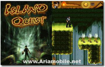 بازی  Island Quest به صورت جاوا