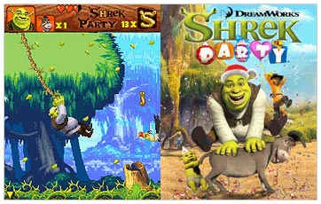 بازي  شرک Shrek Party در فرمت jar. (جاوا)