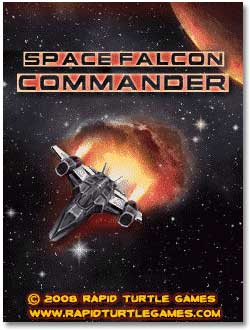 بازی  هواپیما Space Falcon Commander تحت فرمت جاوا