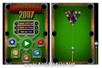 بازی بیلیارد برای نوکیا 5800,N97,n95,n96,n78 -s60v3 v5
