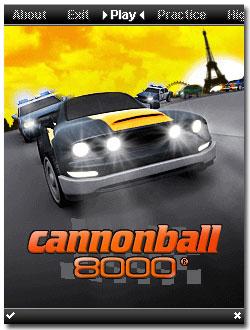 بازي Cannonball 8000 جاوا