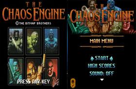 بازی جدید Chaos Engine به صورت جاوا