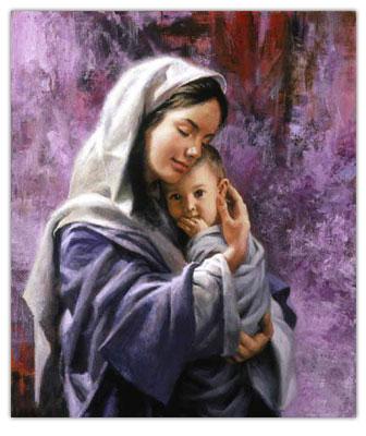 مادر + آغوش مادر + آرامش