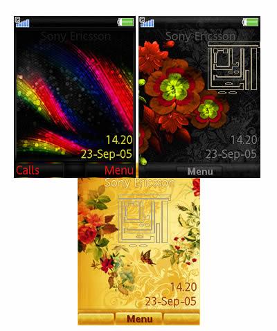 دانلود تم برای c905,w980,c902,z780,g705,t715,naite- سری C و  W و T