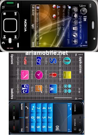 مجموعه ۴ تم زیبا برای گوشیهای سری ۶۰ ورژن ۳
