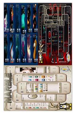 مجموعه سه تم زیبا برای گوشیهای سری 60 ورژن 3 و 5