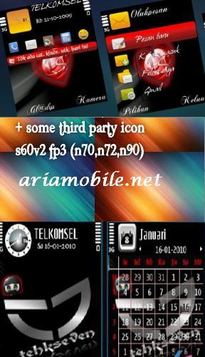 سه تم زیبا برای گوشیهای سری 60 ورژن 2