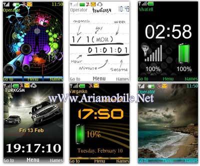 دانلود تم جدید برای گوشی نوکیا  5610 ، 6500، 7210، 6300 - Download theme Nokia s40v5