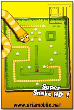 دانلود تلگرام جاوا گوشی سامسونگ بازی Super Snake HD v1.0 - آندروید و آیفون - آریا موبایل